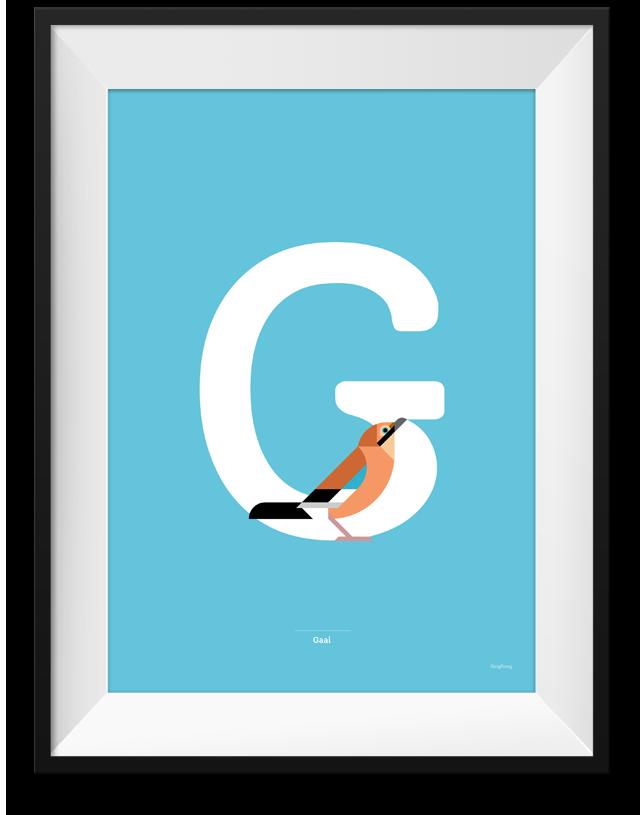 Gaai poster