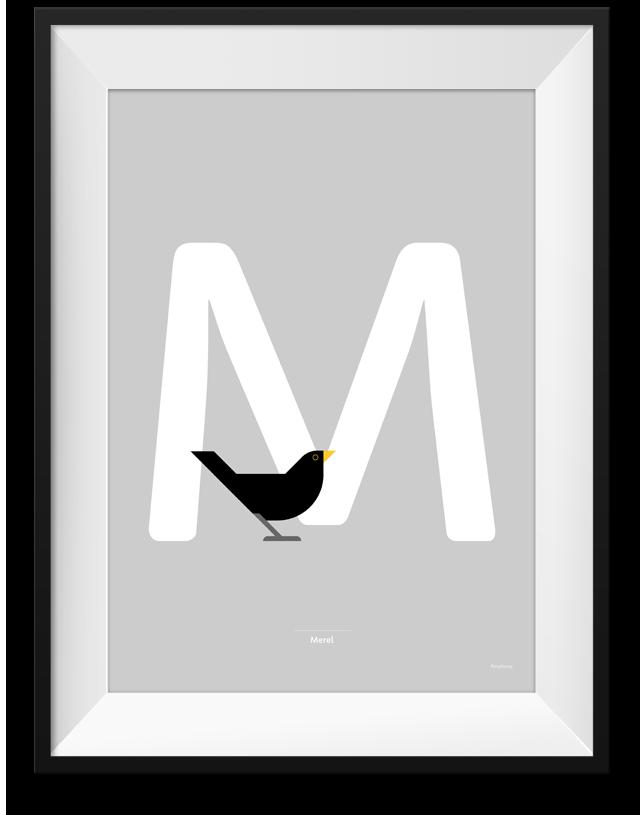 Merel print
