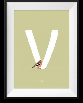 Vink bird poster