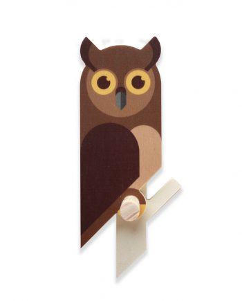 owlet wall hook plywood