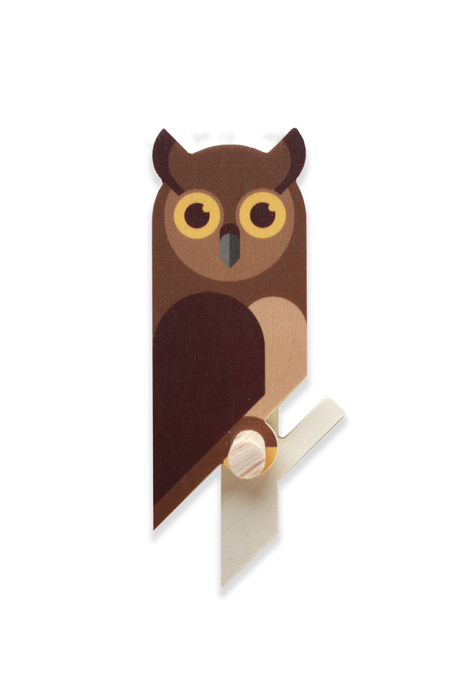 owlet wall hook plywood