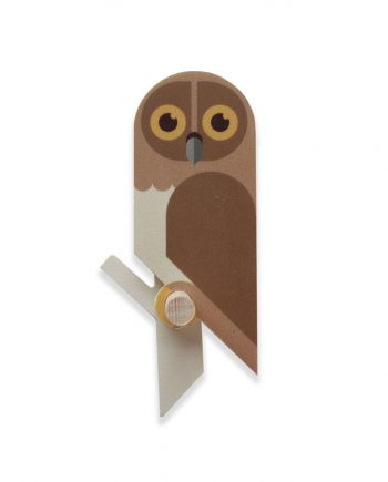 owlet wooden wallhook by Hinghang