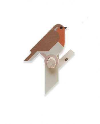 robin wooden wall hook by Hinghang