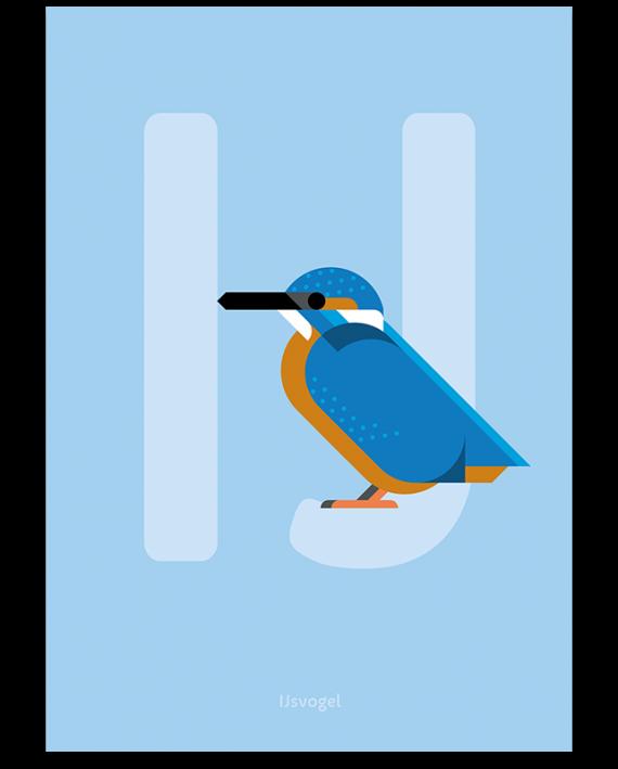 IJsvogel print
