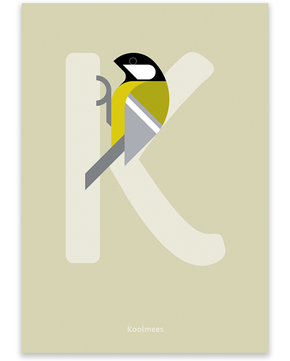 Koolmees poster