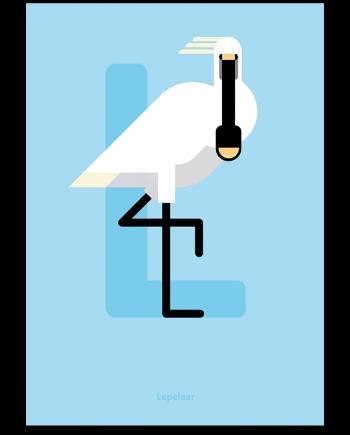 Lepelaar poster