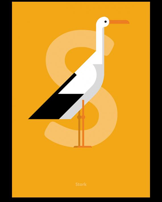 Stork print