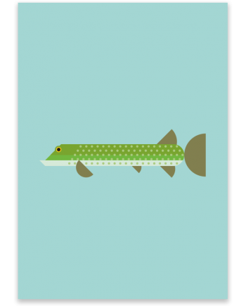 Pike-poster