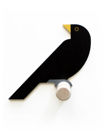 blackbird wall hook wood hinghang