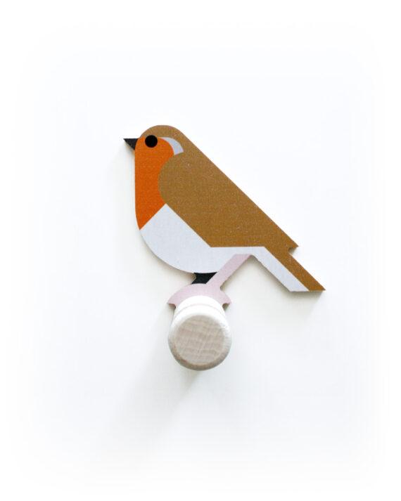 robin wall hook wood hinghang