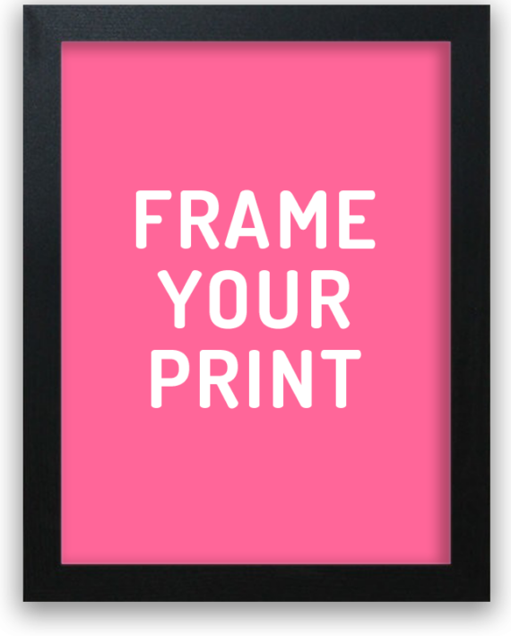 frame your Hinghang print